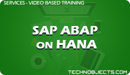 SAP ABAP on HANA  SAP Video Based Training SAP ABAP on HANA 1