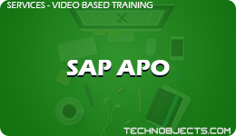 SAP APO  SAP Video Based Training SAP APO