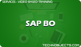 SAP BO  SAP Video Based Training SAP BO