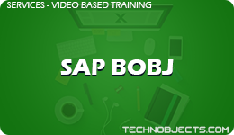 SAP BOBJ  SAP Video Based Training SAP BOBJ 1
