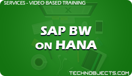 SAP BW on HANA  SAP Video Based Training SAP BW on HANA 1