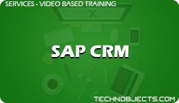 SAP CRM  SAP Video Based Training SAP CRM