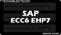 SAP ECC 6.0 EHP7 Remote Access sap ecc 6.0 ehp7 remote access SAP ECC 6.0 EHP7 Remote Access SAP ECC6 EHP7
