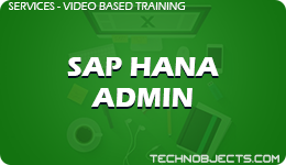 SAP HANA Admin  SAP Video Based Training SAP HANA Admin 1