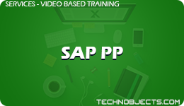 SAP PP  SAP Video Based Training SAP PP