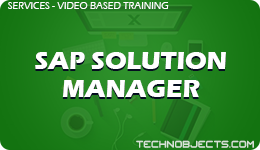SAP Solution Manager  SAP Video Based Training SAP Solution Manager