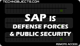 SAP IS Defence Remote Access sap is defence remote access SAP IS Defence Remote Access SAP IS Defense Forces Public Security