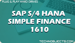 SAP S/4 HANA Simple Finance 1610  SAP Plug & Play Hard Drives SAP S4 HANA Simple Finance 1610
