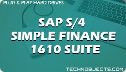 SAP S/4 Simple Finance 1610 Suite  SAP Plug & Play Hard Drives SAP S4 Simple Finance 1610 Suite 1
