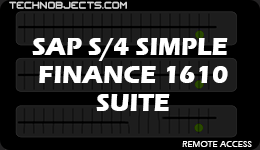 SAP S/4 HANA Simple Finance 1610 Suite sap ides remote access SAP IDES Remote Access SAP S4 Simple Finance 1610 Suite