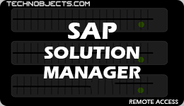 SAP Solution Manager sap ides remote access SAP IDES Remote Access SAP Solution Manager